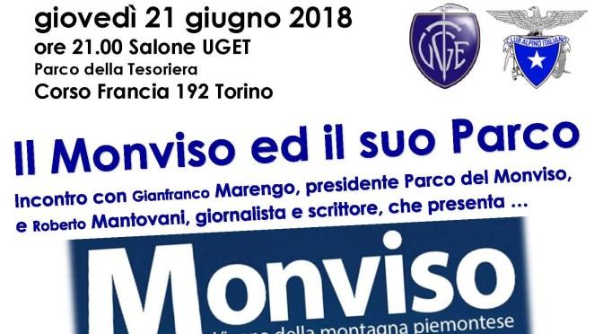 Giovedì 21 Giugno – Presentazione: Monviso ed il suo Parco