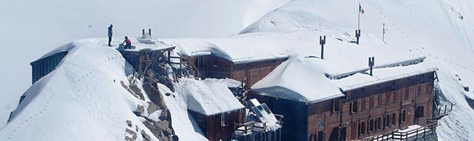 Capanna Gnifetti Rifugio al Garstlet Valsesia Monte Rosa