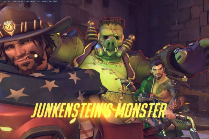 mccree y hanzo photobomb halloween