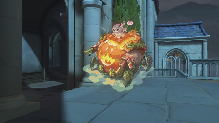 Spray Hammond Halloween Terror 2018 Overwatch