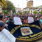 Bambamarquinos vuelven a las protestas en defensa medioambiental