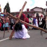 Con motivo se Semana Santa se escenificará el Vía Crucis en pasaje de la Cultura
