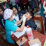 """Niños de entre 6 y 12 años del colegio """"Nuestra Señora de La Merced"""" recibieron atención médica gratuita"""