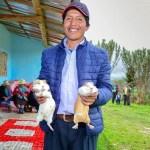 Proyecto agropecuario de Yanacocha beneficia a ocho caseríos del alto llaucano