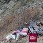 Cinco integrantes de una familia mueren tras caída de vehículo a un abismo