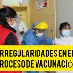 Contraloría identificó riesgos en padrón y registro de vacunación
