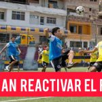 Gobierno contempla reactivar el fútbol y otras disciplinas