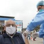 Proceso de vacunación a los adultos mayores comienza hoy lunes 8 de marzo