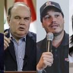 Lescano lidera la intención de voto y tres candidatos empatan en el segundo lugar