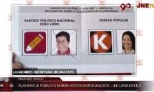 Foto de <JEE anula voto a favor de Pedro Castillo en audiencia, pese a que era válido.