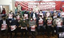 Foto de <Convocan a paro nacional para exigir proclamación de Pedro Castillo