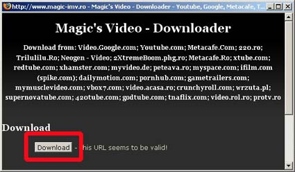 descargar videos con firefox