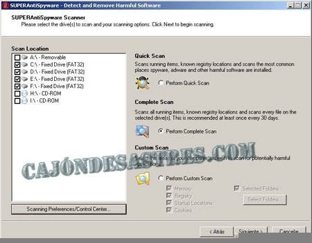 antiespias gratis superantispyware