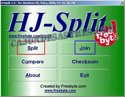 patir y unir videos con hj-split