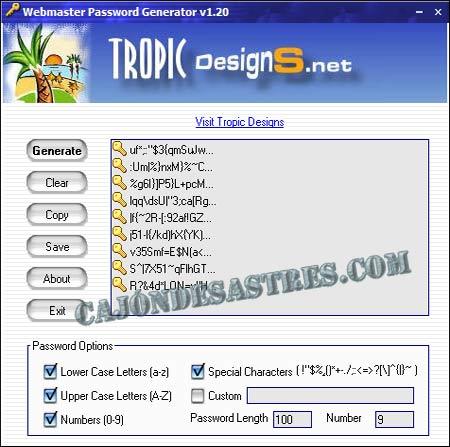 webmaster-password-generator