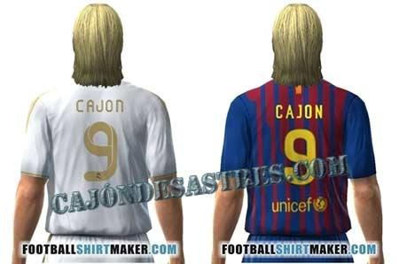 3d0f21939122e Crear una camiseta de tu equipo de fútbol con tu nombre y número ...