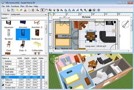 Programa gratis de diseño de interiores y decoración (instalar u ...