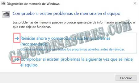 comprobar ram en windows 10