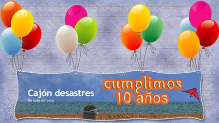 felicitacion 10 aniversario