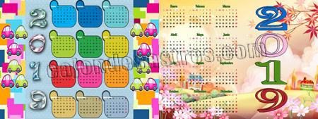 Descargar gratis calendarios infantiles