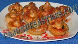 receta de champis al ajillo