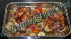 Receta de codillo de cerdo asado al horno con guarnicion