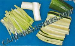 lomos de sardina con verduras