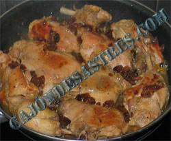 pollo salsa macerado especias morunas