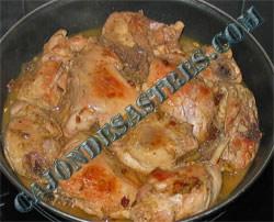 pollo macerado especias morunas