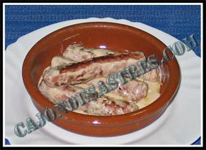 receta de salchichas en salsa de nata