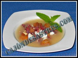 Receta de sopa de picadillo