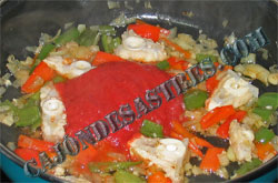 receta tintorera en salsa