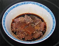 atun en salsa de soja y ajonjoli