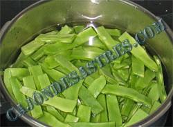 judias verdes cocidas con boloñesa