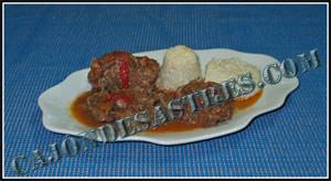 receta de cordero en salsa