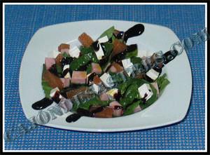 receta de ensalada de espinacas