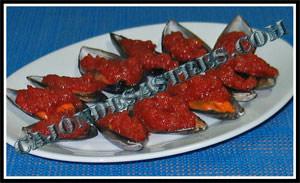 receta de mejillones con tomate