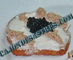 receta de tostas de queso y pate de anchoa