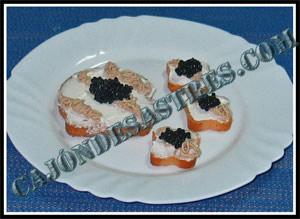 receta de tostas de pate de anchoa