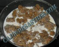 receta croquetas setas y carne cocido