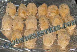 receta de croquetas de cocido y setas