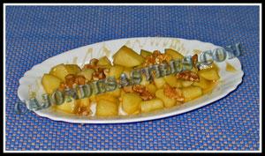 receta de manzana con miel