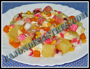 receta de ensalada de patatas y pulpo