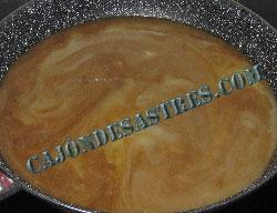 filetes de ternesa en salsa de champiñones