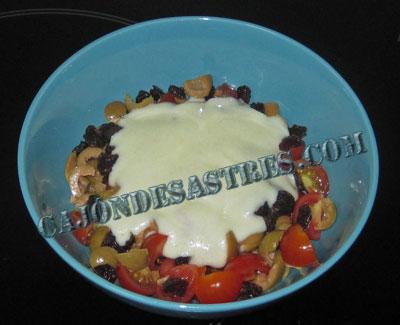 receta ensalada de pasta con salsa de yogur