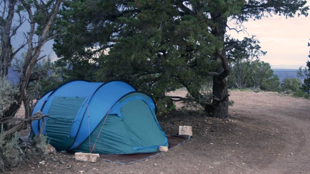 Our tent and bedding, at this point, remained dry.
