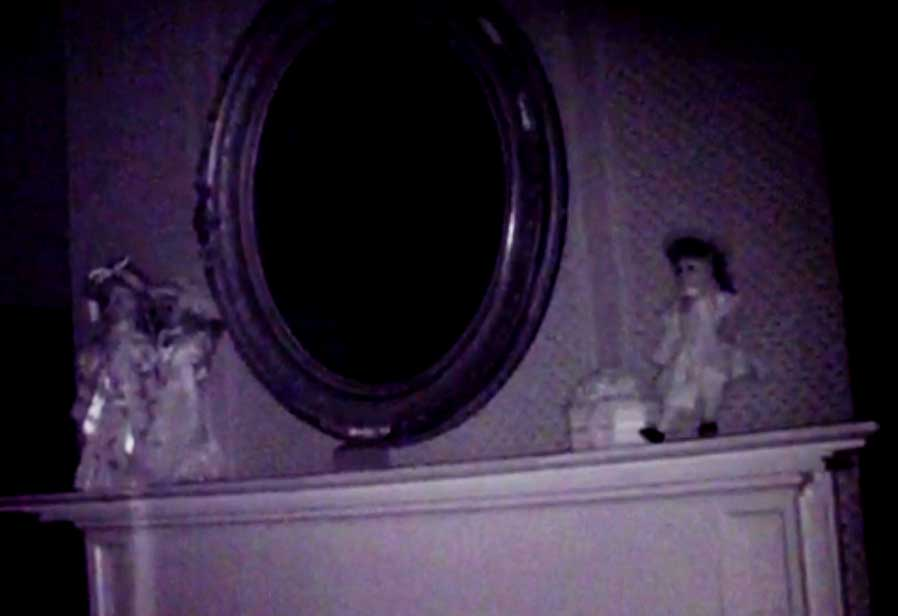 IR camera picture: As a ghost hunter, you must be comfortable questioning the spirits about dolls, mirrors, life and death. Be sure to thank them for their time, regardless of intelligent responses, or lack of intelligent responses. After all, you do not want them following you home.
