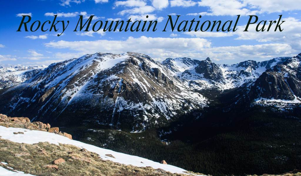 This photo is one of many beautiful mountain landscapes viewed while traveling on Trail Ridge Road. It was taken at an overlook near the Alpine Visitors Center.