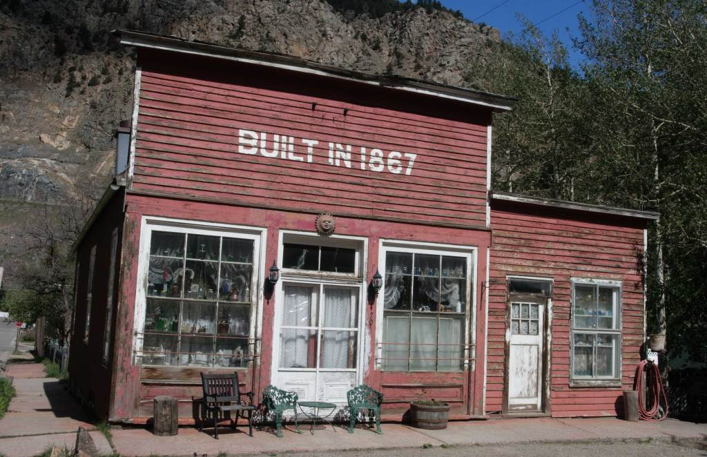 This building is a typical old west view when traveling through Colorado mining towns. This one is located in Georgetown, Colorado.