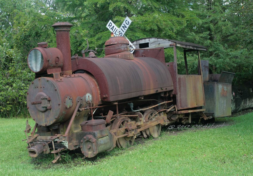This small steam engine, located at the St. James Welcome Center may have been used at a sugar mill; a tie to sugar production and plantations?